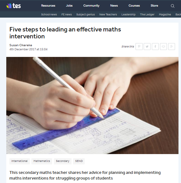 TES_Maths Intervention article_image